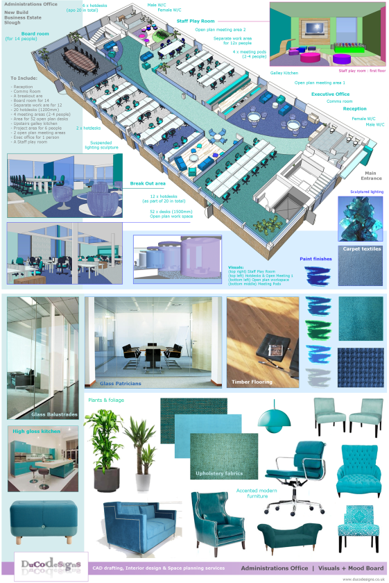 duco designs ltd office design and space planning services